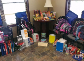 Westar FCU school supply fundraiser